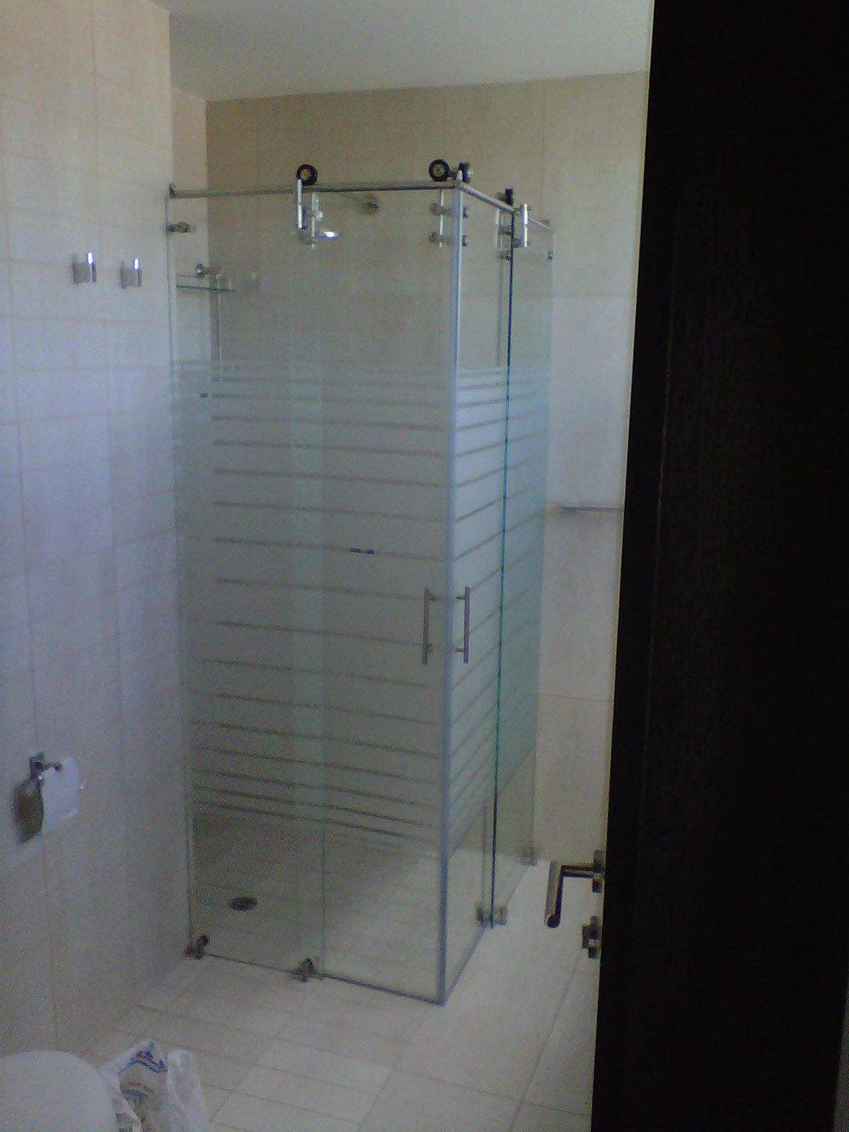 duchas vidrio templado