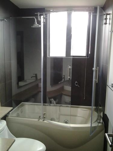 Cortinas de baño Boss Glass: Cabinas de baño con vidrio ...