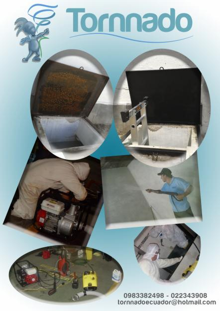 limpieza de cisternas