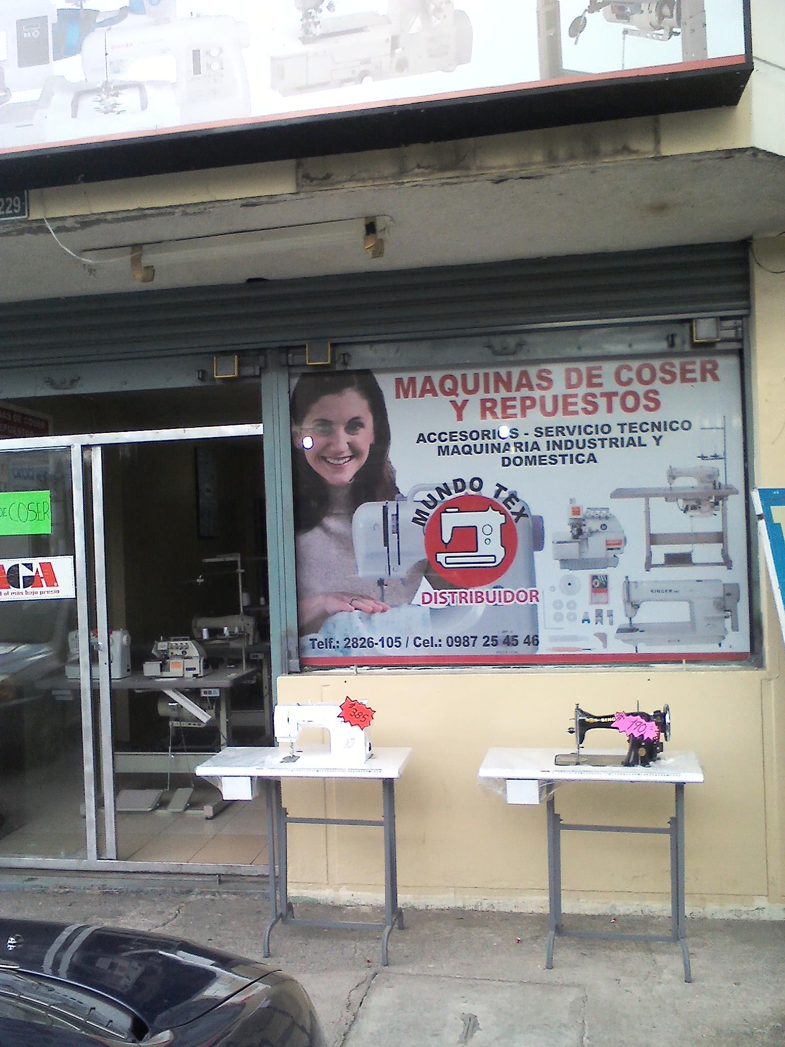 Maquinas de Coser en Quito