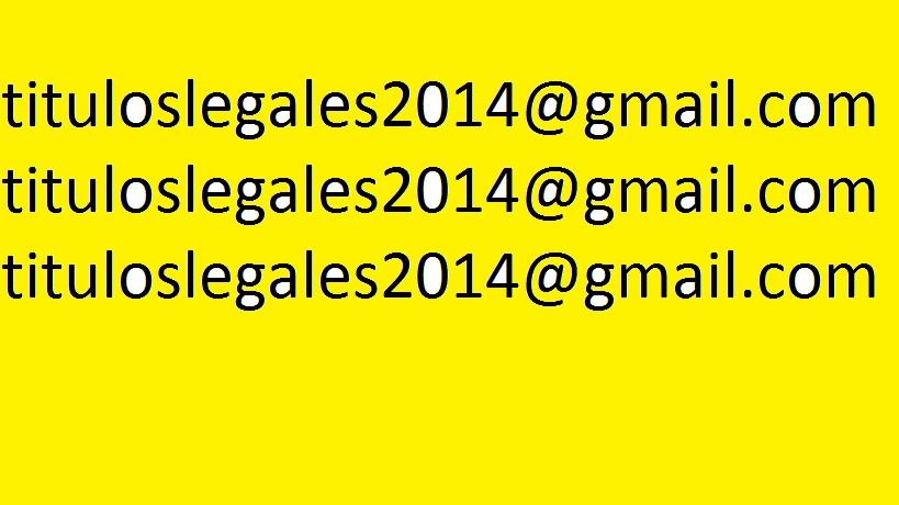 Venta de Titulos de Bachiller Legales Registrados
