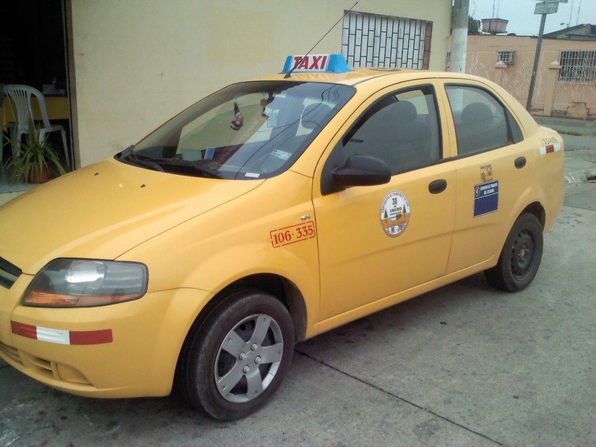 taxi con puesto de venta en Guayaquil