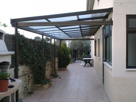 Techos de policarbonato ecuador en venta for Techos de madera para patios
