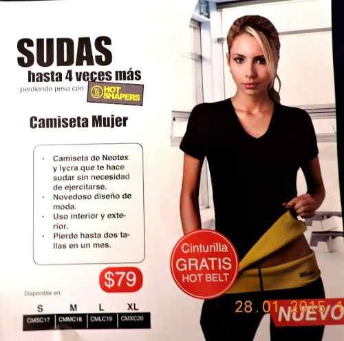Camiseta Termica Hot Shapers para Hombre y Mujer de venta en Ecuador