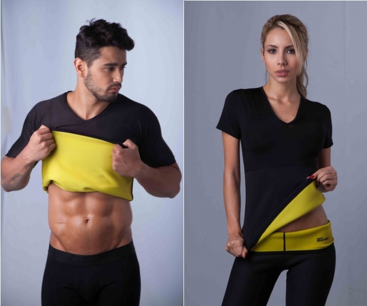 Camiseta Termica Hot Shapers para Hombre y Mujer