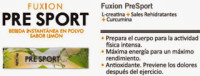 Fuxion Pre Sport Bebida Rehidratante