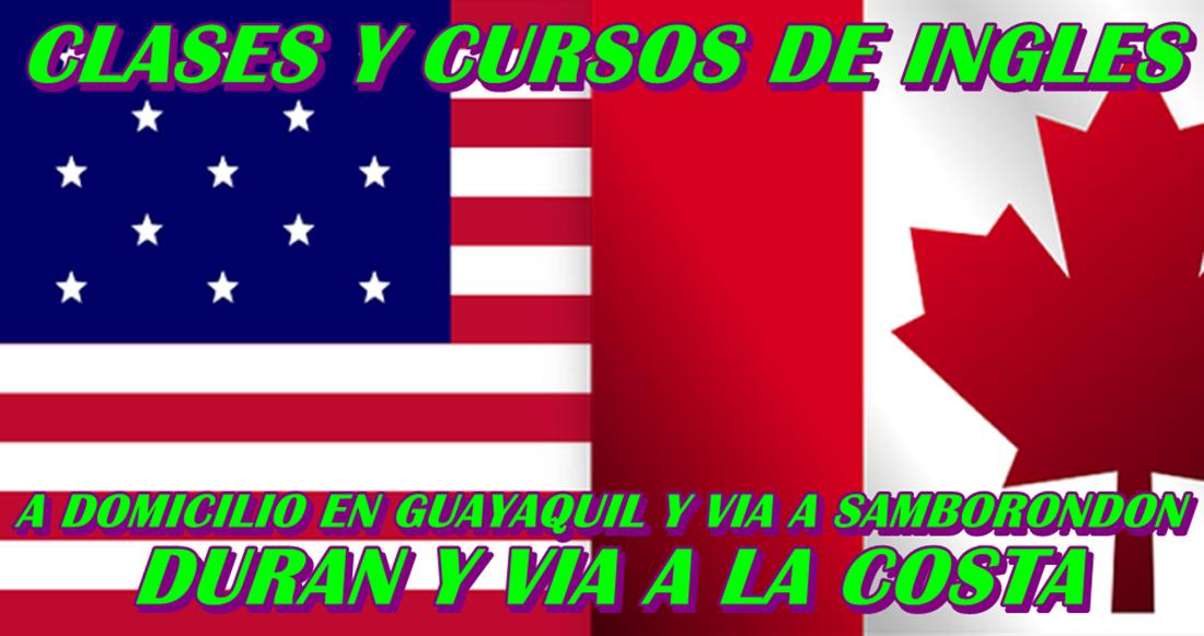 cursos y clases de ingles a domicilio guayaquil