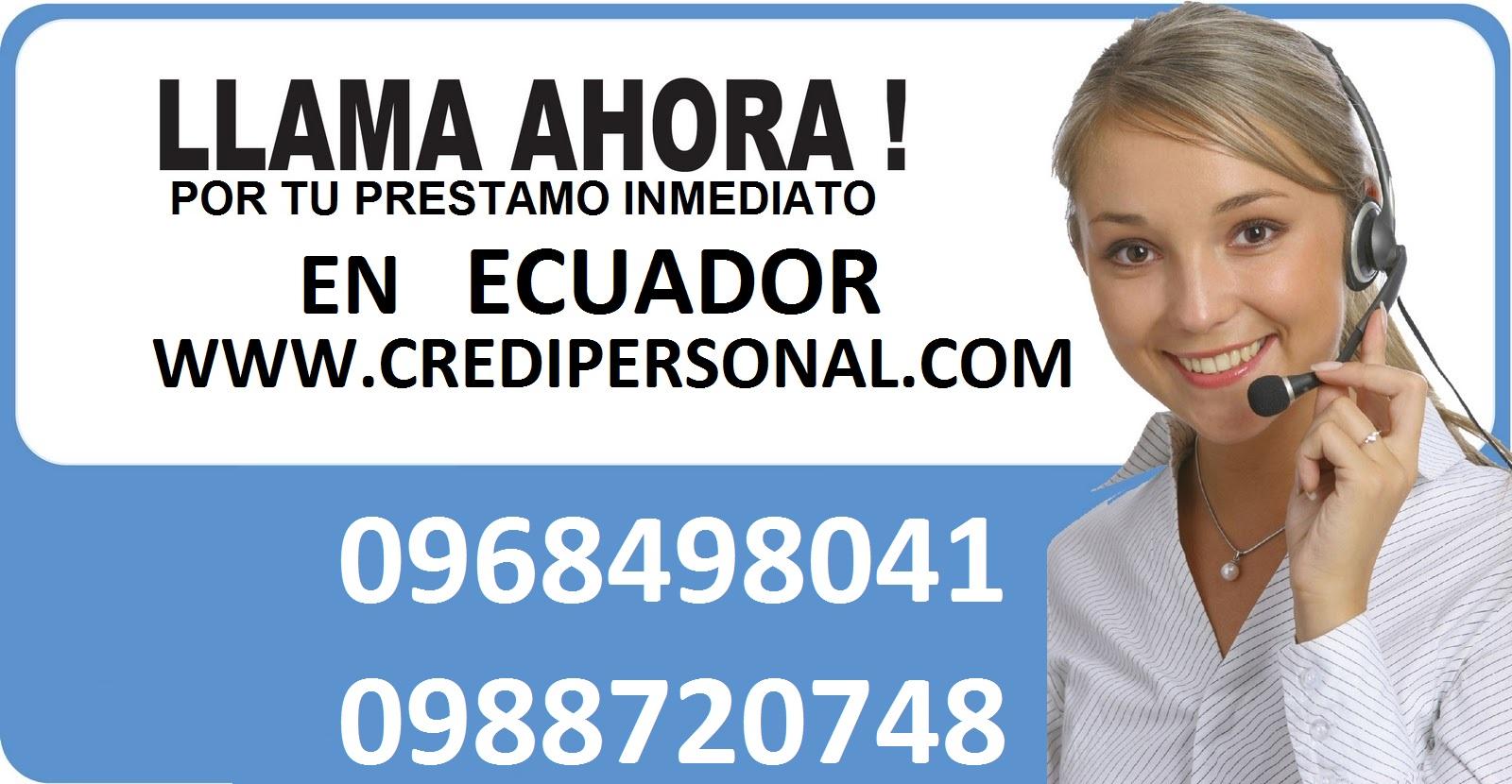 PRESTAMOS ECUADOR