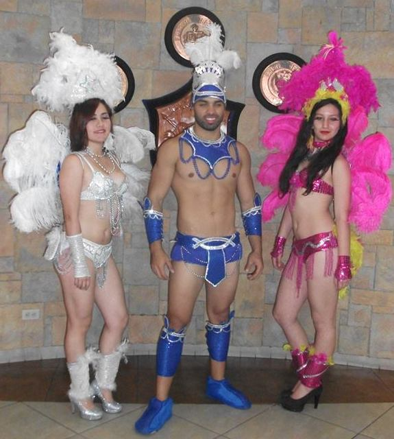 hora loca show samba
