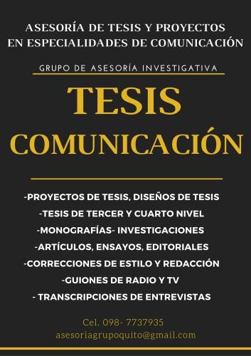 tesis en comunicacion