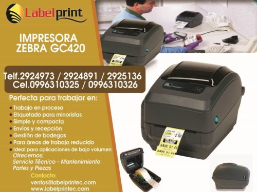 Impresora GC 420