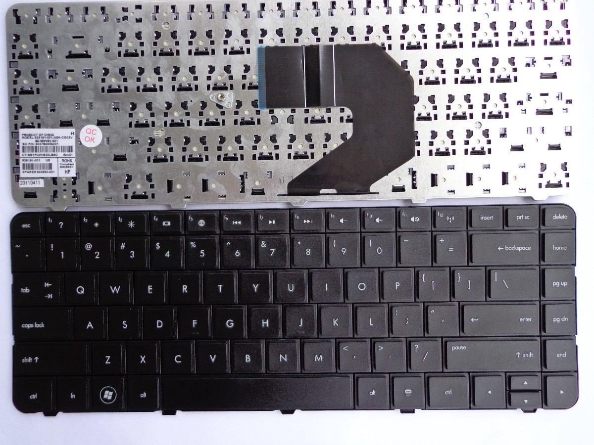 teclados laptops