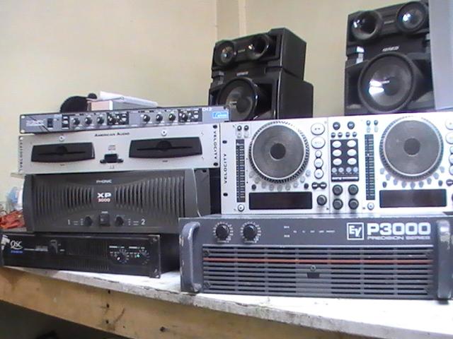 mantenimiento equipos de sonido