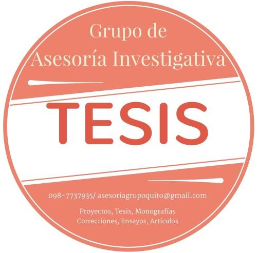 Asesoría de Proyectos de Tesis, Tesinas, Monografías