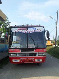 Bus e venta en Santo Domingo