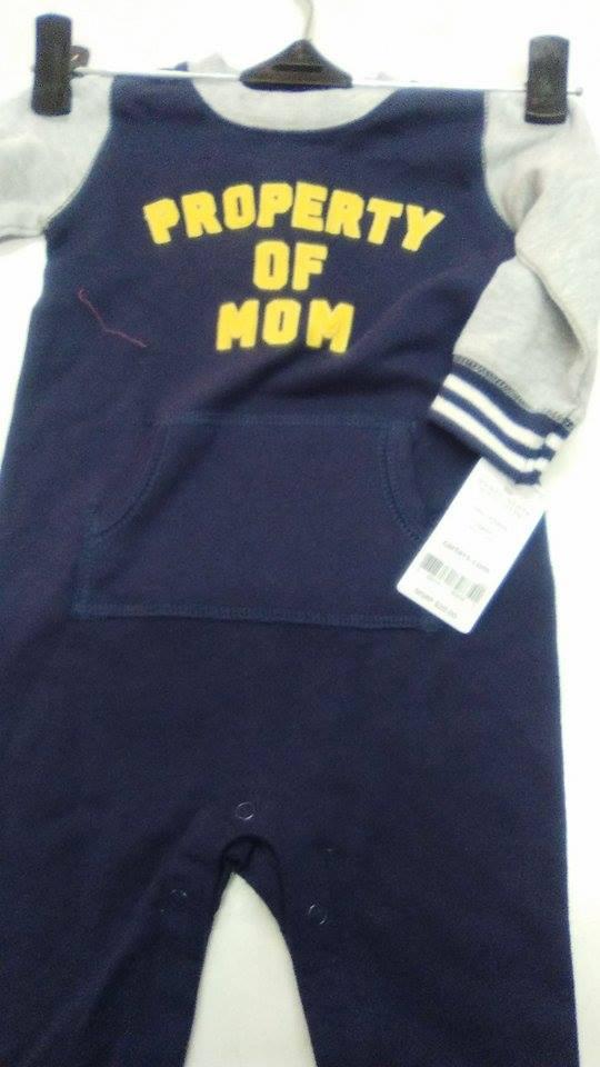 ropa de bebe marca Carters y OshKosh
