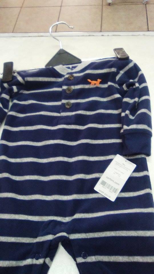 ropa de niños marcas Carters y OshKosh