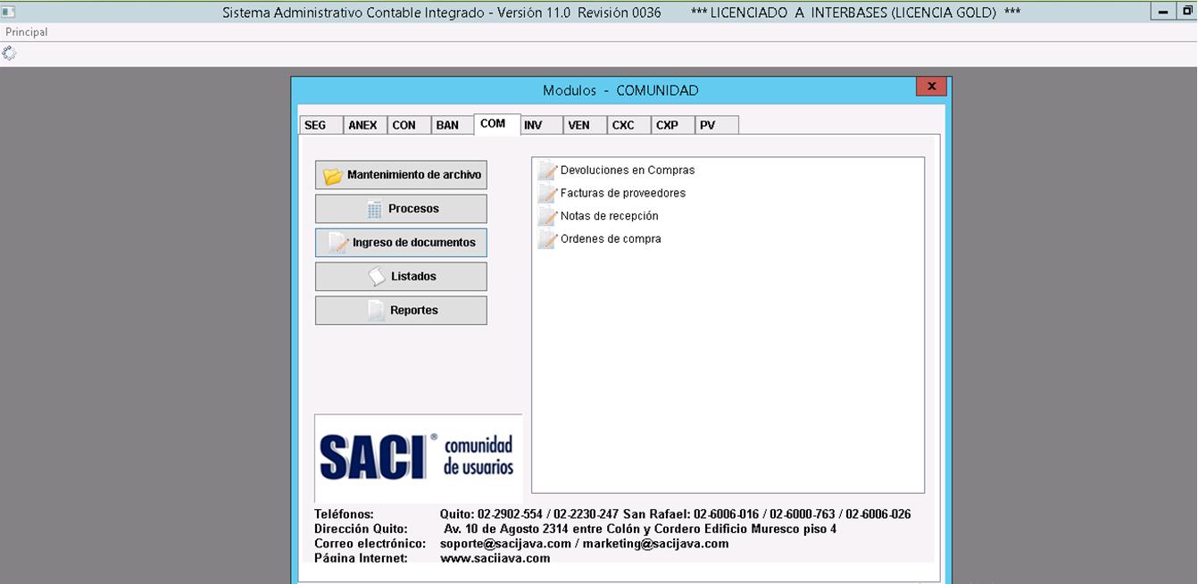 Facturación Electrónica software